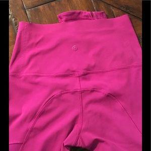 💗LULULEMON PINK PANTS Size 4 Perfect Condition